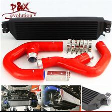 Bolt On Turbo Intercooler w/ Pipe Kit For VW Jetta Gti Golf A3 Mk5 2.0T 06-10