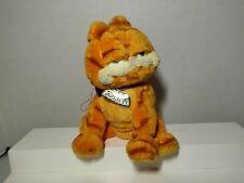 "Ty 2004 Garfield 7"" Bean Bag Plush Animal Toy Comic Strip Cartoon Movie Cat"