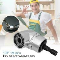 Handle Right Angle Drill Adapter 105 Degree Electric Hex Tool Drill Bit