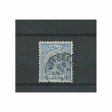 "Nederland 35 met "" UITGEEST 1895""  VFU/gebr  CV 10 €"