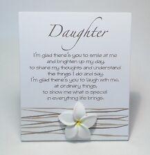 Splosh Daughter Poem Birthday Gift Ideas for Her WF029