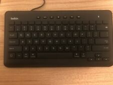 Belkin B2B115 Secured Wired Keyboard for Ipad with Apple Lightning Connector