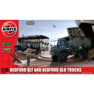 Airfix A03306 1/76 Bedford QLT And Bedford QLD Trucks Brand New