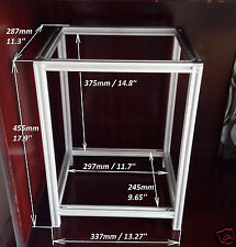 XYZ printer T-slot 2020-6 extrusion frame 3D printer box with fittings