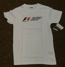 Formula 1 US Grand Prix 2015 Austin Texas Mens Super Soft Poster Tee NWT Sm 2208