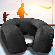 Large Memory Foam U Shaped Travel Pillow Neck Support -- Clearance! Limited Qty!