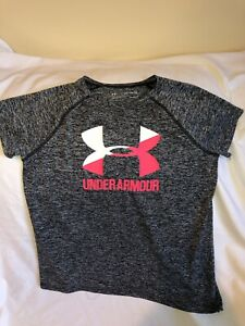 Under Armour Youth Girls XL Athletic Shirt