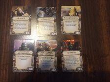 X-Wing Miniatures Astromech Upgrade Cards Set