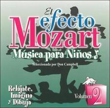 Efecto Mozart: Musica Para Ninos 2 2007 by Efecto Ex-library . Disc Only/No Case