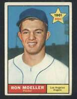 1961 Topps #466 Ron Moeller VG/VGEX RC Rookie Angels 48350