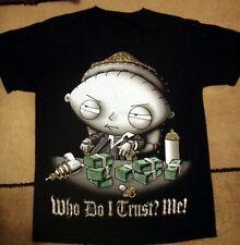 Retro Stewie Family Guy Scarface Hiphop T-Shirt Mens sz. Medium M Tee Teeshirt.