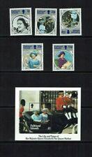 Falkland Islands:1985 Life & Times of Queen Elizabeth the Queen Mother  MNH  set