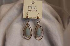 Blue Teardrop Drop Hook Earrings By Mia