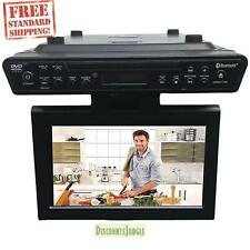 "Sylvania SKCR2706BT 10.2"" Under Cabinet Kitchen TV W/ DVD Player/ Bluetooth"