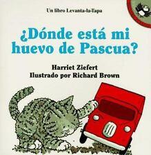 Donde Esta Mi Huevo de Pascua? (Puffin Lift-the-Flap) (Spanish Edition)