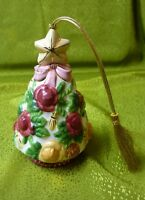 Royal Albert Old Country Roses Ornament Christmas Tree Bell No Original Box