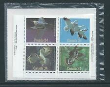 Canada #1098a Birds Of Canada Post Office Sealed Set Plate Block MNH