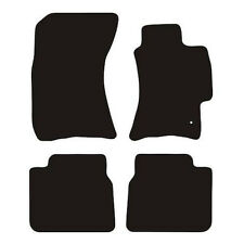 Subaru Legacy (2002 to 2009) Tailored Black 3mm Rubber Car Floor Mats Set of 4