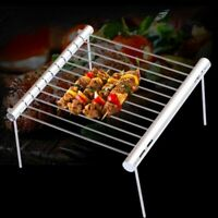 Portable BBQ Grill Folding Mini Pocket Outdoor Stainless Steel Barbecue Tools
