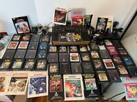 Atari Cx2600 'Heavy Sixer' 6-Switch With 44 Games Bundle Paddles Works Great!