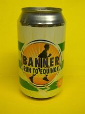 New listing Older Craft Banner Beer Can Williamsburg Massachusetts Run To Equinox Ale
