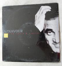 33 TOURS 25 cm PROMO 2001 CHARLES AZNAVOUR D'UN SIECLE A L'AUTRE EMI NEUF