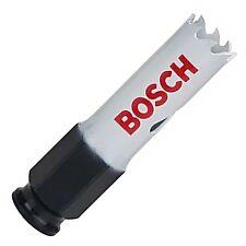 """Bosch 17 mm 11/16"""" cambio de alimentación de liberación rápida Holesaw Cortador del agujero Sierra Broca"""