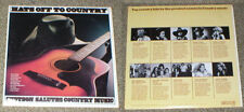 HATS OFF TO COUNTRY vinyl lp Stetson limited edition SEALED Byrds Cash Nelson...