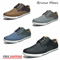 Bruno MARC Mens Classic Lightweight Lace Up Casual Oxfords Flat Shoes Sneakers