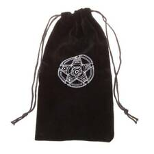 Velvet Pentagram Card Tarot Storage Bag Toy Jewelry Home Drawstring Mini Package