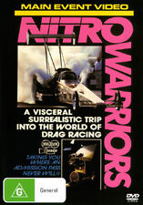 NITRO FUNNY CARS DRAG RACING - NITRO WARRIORS DVD