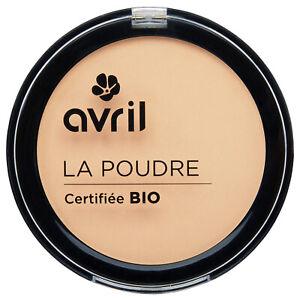 Poudre compacte Porcelaine Certifiée Bio Vegan Naturel Cosmétique AVRIL