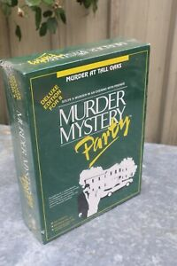 NEW & SEALED - MURDER MYSTERY Dinner Party Game - Murder At Tall Oaks
