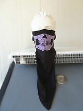 2x Biker skull face mask  Durag/Bandana/NWT. Chopper motorcycle. Pink,defective