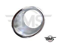 BMW MINI ONE D/COOPER D Paraurti Anteriore Cromato Luce Surround Nebbia N/S R56 R55 R57