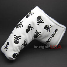 Golf Blade Putter Headcover Little SKULL For Scotty Cameron Odyssey Taylormade