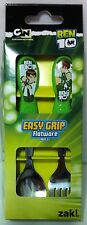 Ben 10 Easy Grip Spoon and Fork Cutlery Set