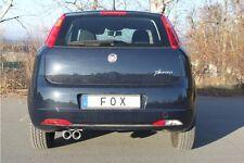 FIAT GRANDE PUNTO 1.3 Multijet 1.9 Multijet Terminale di Scarico FOX 2x76