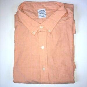 Brooks Brothers Men's Striped SLIM Fit Dress Shirt Size XL