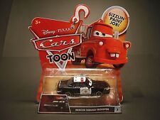 Disney Pixar Cars Toon Rescue Squad Trooper #3 Diecast by Mattel