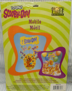 SCOOBY DOO SCOOBY-DOO MOBILE DECORATION NEW Birthday Party Supplies