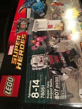 LEGO Super Heroes Super Hero Airport Battle 76051 New Sealed DENTED Box WEAR