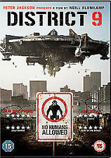 District 9 [DVD] [2009] New Sealed dvd C1