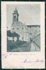 Rovigo Città PIEGA cartolina XB0424