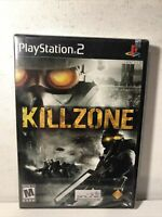 Killzone (Sony PlayStation 2, 2004) PS2 Brand New Factory Sealed Black Label