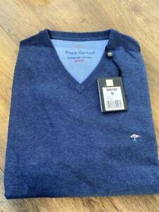 Fynch-Hatton Knit Sweater Pullover in Night (Navy) - Size Medium - BNWT RRP £70