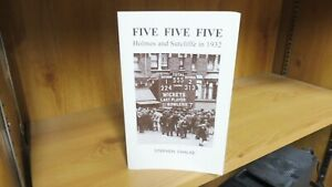 Five Five Five: Holmes and Sutcliffe in 1932 by Stephen Chalke (2007)