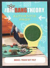 THE BIG BANG THEORY SEASON 6 & 7 Cryptozoic PROP CARD #M22 MODEL TRAIN SET FELT