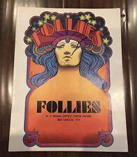 Follies Stephen Sondheim Souvenir Program 1971