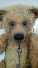 Trooper Large Ooak Artist Teddy Bear By Beth Anne Martin - Low Starting Price!